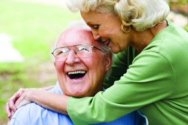 Caregiver with Alzheimer's Patient