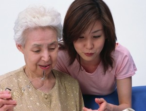 Elderly Senior Home Care Assisting Reading cropped