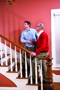 Elderly Senior Home Care Stair Assist